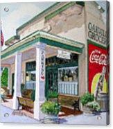 Oakville Grocery Acrylic Print