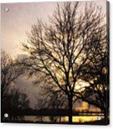 Oakwood Lakes Sunset Acrylic Print