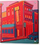 Oasis Diner Burlington Vt Acrylic Print
