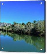 Oasis Reflection Acrylic Print