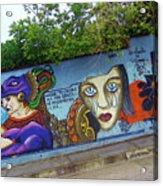 Oaxaca Graffiti Acrylic Print