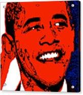 Obama Hope Acrylic Print