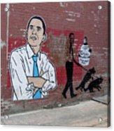 Obama Pride Acrylic Print