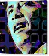 Obama2 Acrylic Print