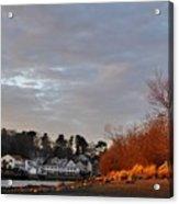 Obear Park At Sunset Acrylic Print