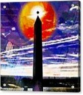 Obelish Eclipse Acrylic Print