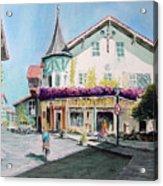 Oberammergau Street Acrylic Print