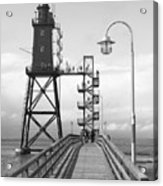 Obereversand Lighthouse - North Sea - Germany Acrylic Print