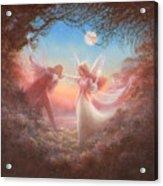 Oberon And Titania Acrylic Print