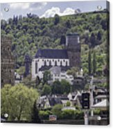 Oberwesel Old And New Acrylic Print