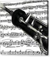 Oboe Acrylic Print
