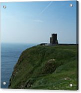 O'brien's Tower At The Cliffs Of Moher Ireland Acrylic Print