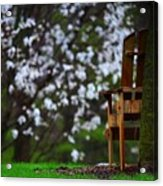 Observation Chair Acrylic Print