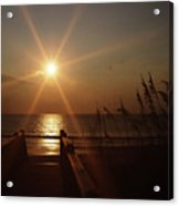 Obx Sunrise Acrylic Print