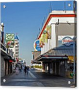 Oc Boardwalk Acrylic Print by Skip Willits