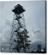 Ocala National Forest Fire Tower Acrylic Print