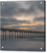 Ocean Beach Pier San Diego Ca Acrylic Print