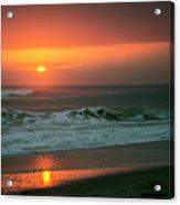 Ocean Beach Sunrise Acrylic Print