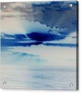 Ocean Blue Monday Acrylic Print