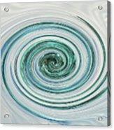 Ocean Blue Whip Acrylic Print