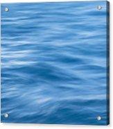Ocean Blur Acrylic Print