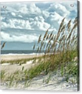 Ocean Breeze At Fort Fisher - Number One Acrylic Print