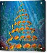 Ocean Christmas Acrylic Print
