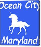 Ocean City Md Acrylic Print