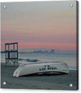 Ocean City Mornings Acrylic Print