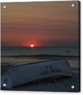 Ocean City New Jersey At Sunrise Acrylic Print
