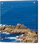 Ocean Cliffs Acrylic Print