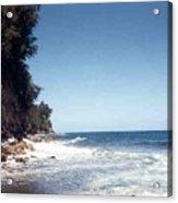 Ocean Cliffside Acrylic Print