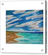 Ocean Clouds Acrylic Print