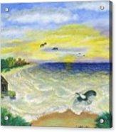 Ocean Delight Acrylic Print