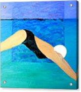 Ocean Dive Acrylic Print