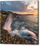 Ocean Drive Sunrise Acrylic Print