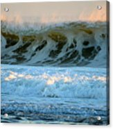 Ocean Energy At Sunrise Acrylic Print