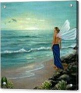 Ocean Fairy Acrylic Print