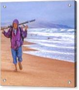 Ocean Fisherman Acrylic Print