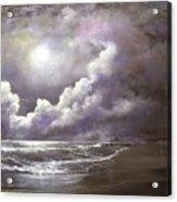Ocean Grove Moon Acrylic Print