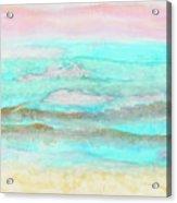 Ocean Haze Acrylic Print