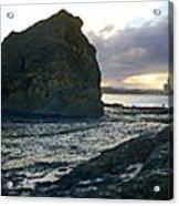 Ocean Headland Panorama Acrylic Print