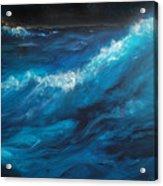 Ocean II Acrylic Print by Patricia Motley