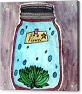 Ocean In A Botle  Acrylic Print
