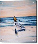 Ocean Kayak Acrylic Print