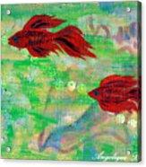 Ocean Layers Acrylic Print