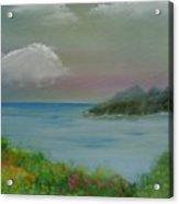 Ocean Meadow Acrylic Print