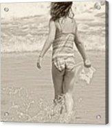 Ocean Moment Acrylic Print