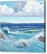 Ocean Pyramid Acrylic Print