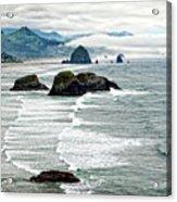 Ocean Rocks Off The Oregon Coast Acrylic Print